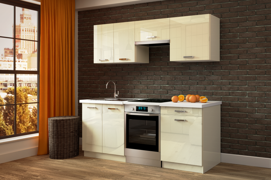 Gloss Or Traditional Wood A Dream Kitchen Already Available