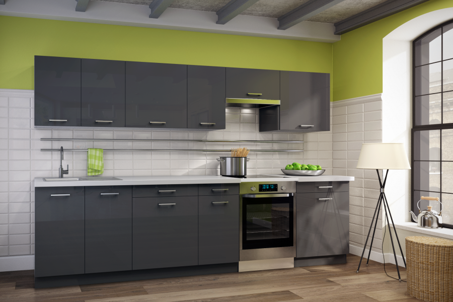Gloss Or Traditional Wood A Dream Kitchen Already