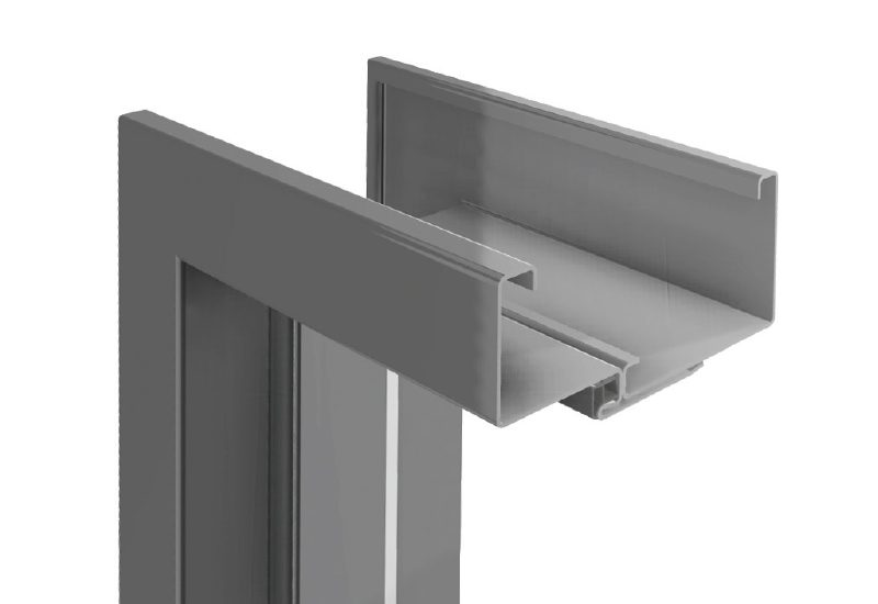 Adjustable Steel Non Rebated Door Frame Classen