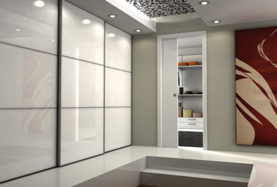 In-wall sliding doors system